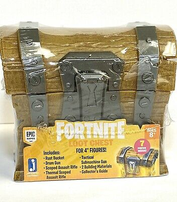 Fortnite Loot Battle Box Chest - Includes 7 Accessories-NewSealed
