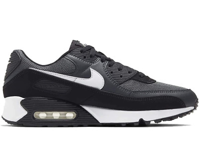 Nike Air Max 90 Smoke Grey Black Mens Sneakers