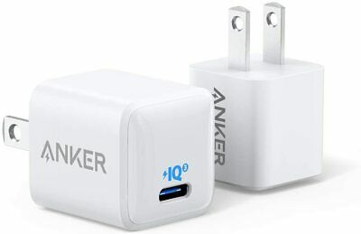 Anker PowerPort PD 1 Fast Charger 18W USB-C Wall Charger Adapter for iPhoneiPad