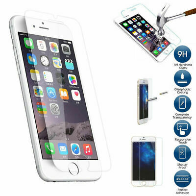 Premium 2-Pack Tempered GLASS Screen Protector FOR iPhone 678101111PROMAX