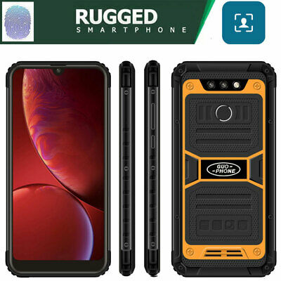 6.25 3G Smartphone Unlocked Rugged Android 6.0 Cell Phone Dual SIM Waterproof
