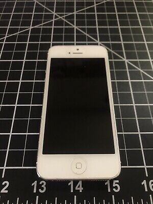 Apple iPhone 5 Great Condition 32 GB WhiteSilver Unlocked Pre-Owned