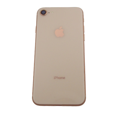 Apple iPhone 8 4-7 Genuine Original Rear Housing Cover Gold OEM Grade B