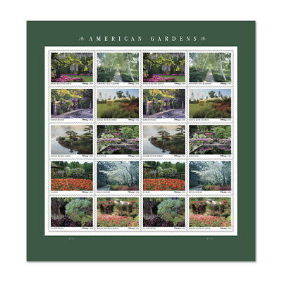 USPS New American Gardens Pane of 20