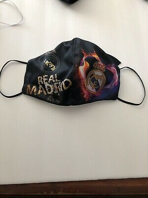 Real Madrid Mouth and Nose Cover Face-Mask Double Layer Protection-
