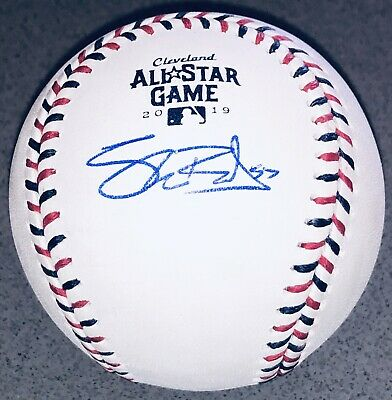 Shane Bieber Autographed Indians Signed 2019 All-Star Game MVP Auto Baseball BAS