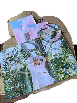 Taylor Swift Lover Target Exlcusive Deluxe Version 2 CD NEW Journal Included
