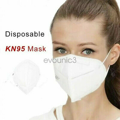 10  20  50 Pack KN95 Face Mask disposable cover  4-Layer K N95