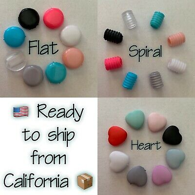Elastic  Cord Adjuster Silicone Stopper Face Mask Making Supplies DIY Toggles