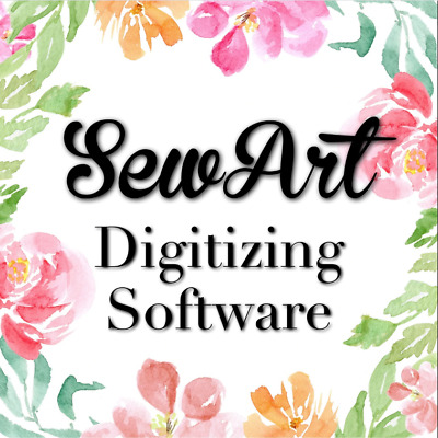 Sew Art Software For Windows - Machine Embroidery digitizer sew art For windows