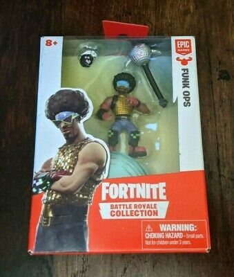 Fortnite Battle Royale Collection Funk Ops Mini Action Figure SAME-DAY SHIP