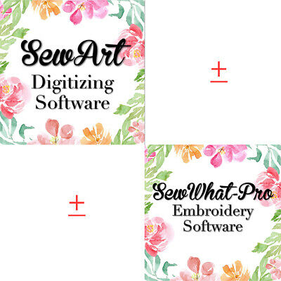 Sew Art - SewWhat -Pro Embroidery Software for  Windows - Mac ✅