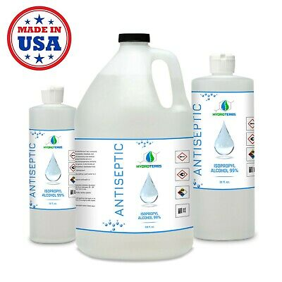 Isopropyl Alcohol 99 for Cleaning Sanitizing and Disinfecting Rubbing Alcohol