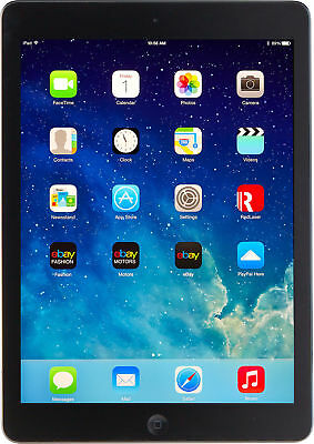 Apple iPad Air 1st Gen - 16GB - Wi-Fi 9-7 in Space Gray Great working condition