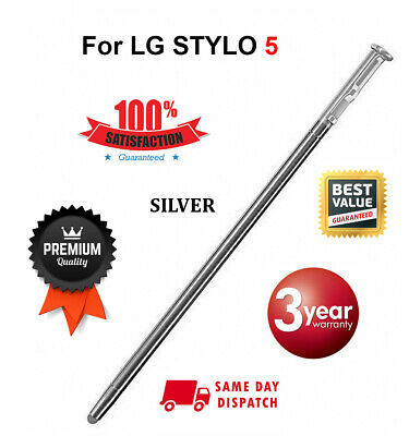OEM For LG Stylo 5 S Pen Replacement NEW Pencil Q720CSPSVSMS Stylus  SILVER