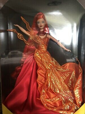 1999 DANCING FIRE BARBIE DOLL LIMITED EDITION ESSENCE OF NATURE COLLECTION MIB
