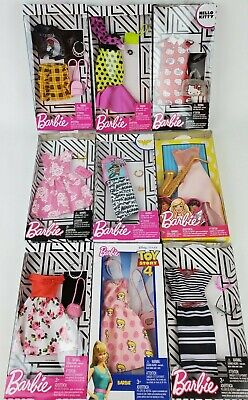 Barbie Complete Fashion Looks clothing packs lot of 2 styles may vary