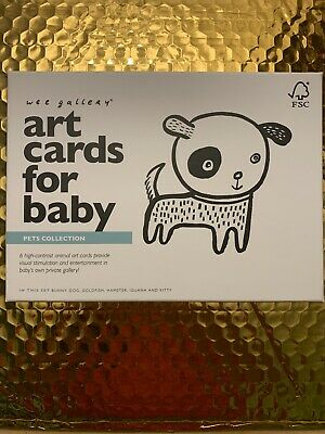 Pets Collection - Wee Gallery Art Cards for Baby Pets Collection Brand New