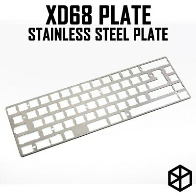 stainless steel plate for xiudi xd68 65% custom keyboard Mechanical Keyboard