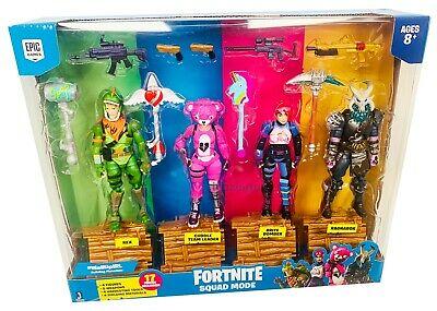 Jazwares Fortnite Squad Mode 4 Figure Pack - NEW