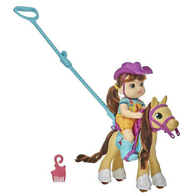 Littles by Baby Alive Lil' Pony Ride Little Mandy Doll and Pony with