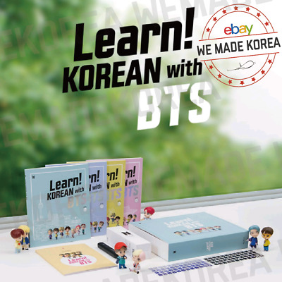 Learn KOREAN with BTS Book Package Official MD - Expedited Shipping
