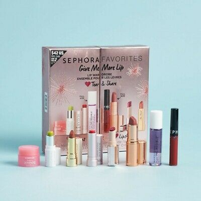 FREE SHIP NEW CONDITION Sephora Favorites Give Me More Lip Limited Edition