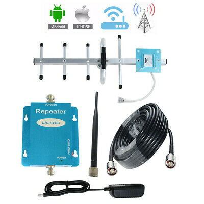 GSM 850MHz Cell Phone Signal Booster AT-T Verizon US Cellular 2G 3G 4G Amplifier