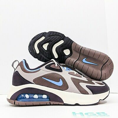 Nike Air Max 200 Mens Running Training Gym Lifestyle Tan Blue AQ2568-200 NIB