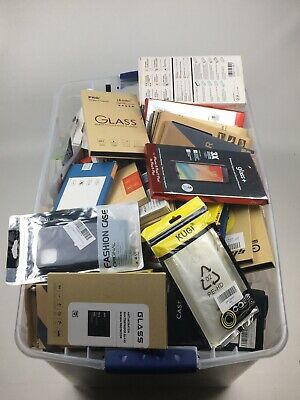 Bulk Wholesale Lot of 150 Mixed Cell Phone Cases Accessories for Iphone Samsung