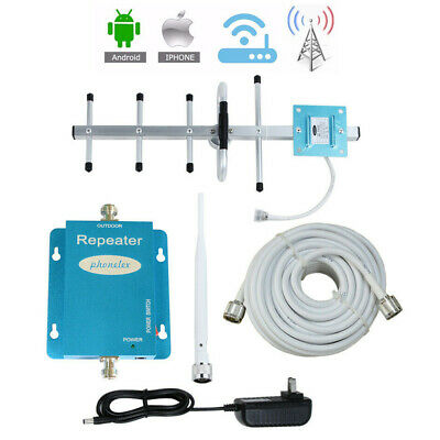 850MHz Cell Phone Signal Booster AT-T Verizon US Cellular GSM 2G 3G 4G Amplifier