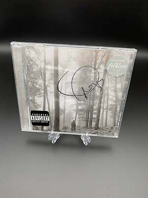 Taylor Swift  Folklore  Signed CD Cover Album  In The Trees  Limited Edition