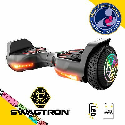 Swagboard Twist T580 Hoverboard w Light-up 6-5 LED Wheels For Kids Ages 8-