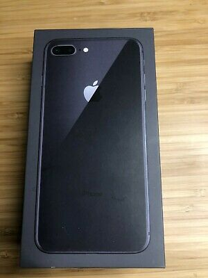 Apple iPhone 8 Plus 64GB Space Gray  EMPTY BOX Only
