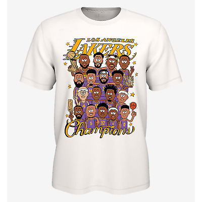 HOT NEW Lakers Championship Shirt 2020 NBA Finals Champions Mamba Gift Unisex