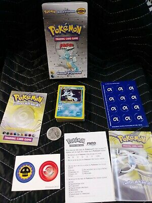 POKEMON 2001 NEO GENESIS COLD FUSION THEME DECK OPENED BOX sealed Cards