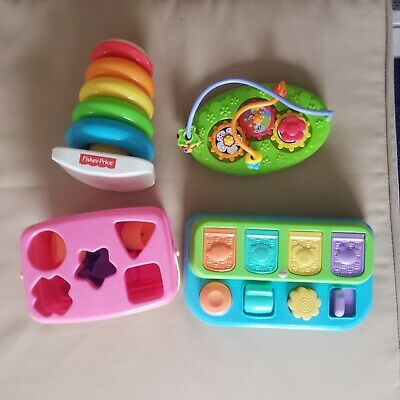 Infant toys lot used