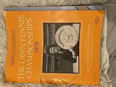 Antique Wimbledon Tennis Brochures Memorabilia