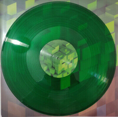 C418 ‎Minecraft Volume Alpha LP Green Colored Vinyl Video Game Soundtrack Record