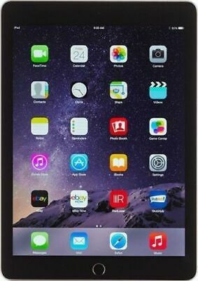 Apple iPad Air 2 64 GB Wi-Fi 9-7in Space Gray Newest IOS 15 Excellent Condition