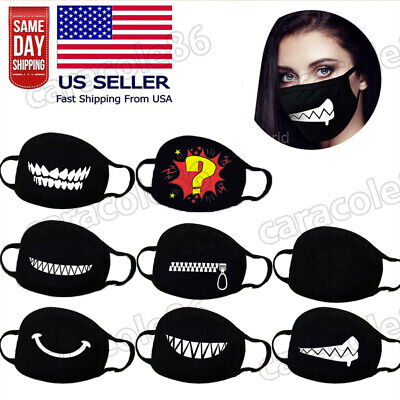 Washable Face Mask Cloth Reusable Fabric Mouth Mask 100 Cotton Face Mask Cover-