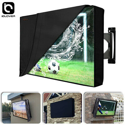 Outdoor TV Cover Scratch Resistant Liner Weatherproof Protector for 40-65 LED