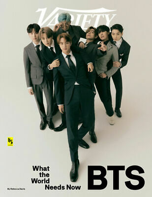 BTS VARIETY MAGAZINE COVER international shipping available