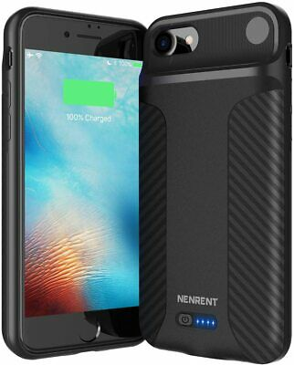 NENRENT True Wireless Battery Case for iPhone 8iPhone SE2020 5000mAh Charging