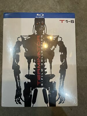 TERMINATOR 6-FILM COLLECTION BLU-RAY - SLIPCOVER BRAND-NEW SEALED ANTHOLOGY