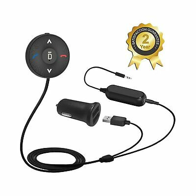 Besign BK03 Bluetooth 4-1 Car Kit for Handsfree Talking and Music Streaming -