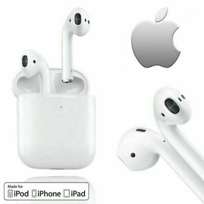 Apple Airpods 2nd Generation Airpod Earbuds Earphones wWireless Charging Case
