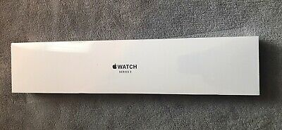 Apple Watch Series 3 38 mm Gray Aluminum Black Sport GPS Smartwatch - MTF02LLA