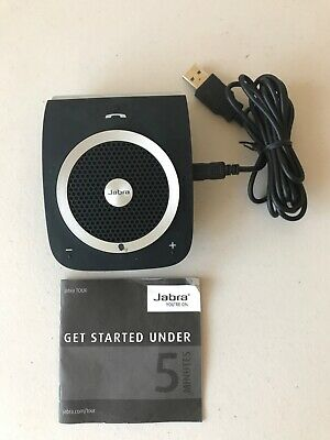 Jabra Tour Bluetooth In-Car Handsfree Speakerphone with USB cable