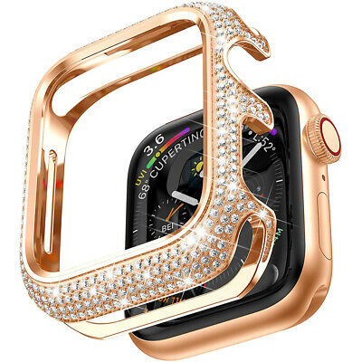 Diamond Protective Case For Apple Watch iWatch Series 6 5 4 3 2 1 38404244mm